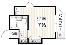 リエス石神井公園[1階]の間取り