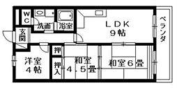 RITTO壱番館[2階]の間取り