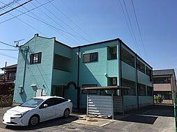愛知県岡崎市岡町字北保母境の賃貸アパートの外観