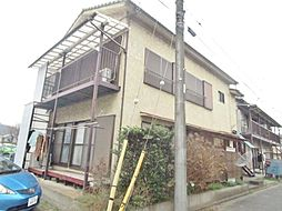 東京都稲城市大丸の賃貸アパートの外観