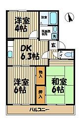 エスポワール鎌倉[2階]の間取り