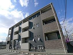兵庫県高砂市神爪1丁目の賃貸アパートの外観