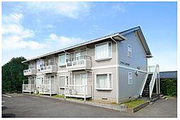 神奈川県横浜市青葉区あざみ野2丁目の賃貸アパートの外観