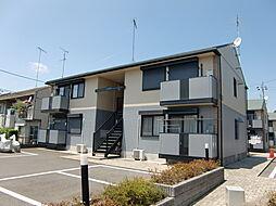 栃木県小山市犬塚1丁目の賃貸アパートの外観