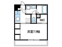 神奈川県厚木市岡田1丁目の賃貸マンションの間取り