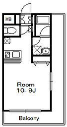 パインタワー[10階]の間取り