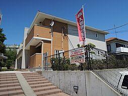 神奈川県藤沢市高谷の賃貸アパートの外観