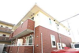 福島県郡山市開成5丁目の賃貸アパートの外観