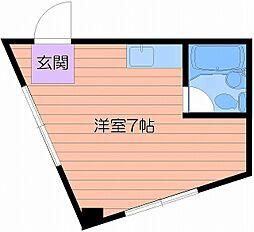 大宝野江ロイヤルマンション[4階]の間取り