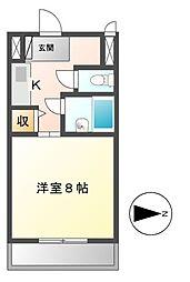 ステップVIII(エイト)[2階]の間取り