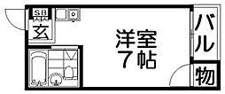 プレアール上神田[4階]の間取り