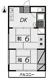 GENKAI[5号室]の間取り