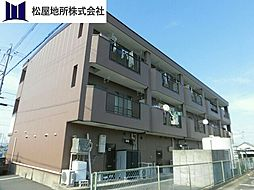 愛知県豊橋市一色町字一色上の賃貸マンションの外観