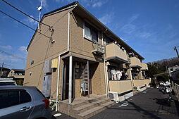 神奈川県相模原市中央区上溝の賃貸アパートの外観