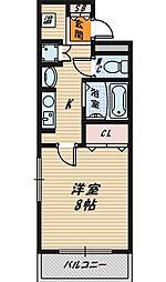 プラ・ディオ蒲生公園[2階]の間取り