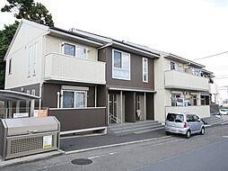 神奈川県座間市西栗原1丁目の賃貸アパートの外観