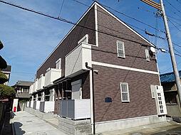 兵庫県姫路市庄田の賃貸アパートの外観