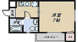 メイプルコート[3階]の間取り