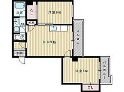 吉本マンション[3階]の間取り
