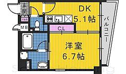 APPLAUSE[4階]の間取り