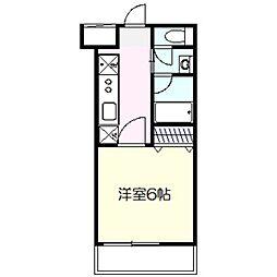 Yayoidai Dento Hills[3階]の間取り