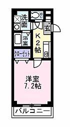 マーベラスKⅡ[102号室]の間取り