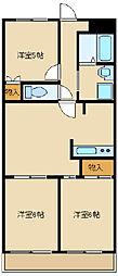 スモールベア マンション[3階]の間取り