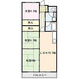 エサキ南ビル[1階]の間取り