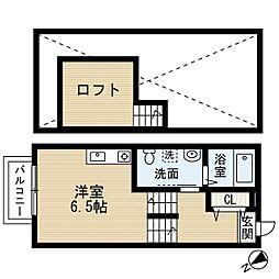Chene八千代台(シェーヌヤチヨダイ)[2階]の間取り