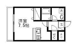 埼玉県草加市瀬崎3の賃貸マンションの間取り