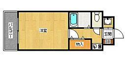 ポートサイド・アベニュー123[407号室]の間取り