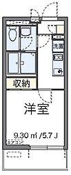 東京メトロ有楽町線 地下鉄成増駅 徒歩12分の賃貸マンション 1階1Kの間取り