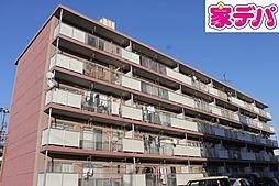 愛知県岡崎市大和町字荒田の賃貸マンションの外観