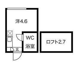 my plan永福町II 1階ワンルームの間取り
