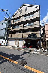 大阪府大阪市旭区高殿1丁目の賃貸マンションの外観