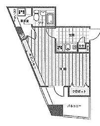 日神デュオステージ笹塚西館[3階]の間取り