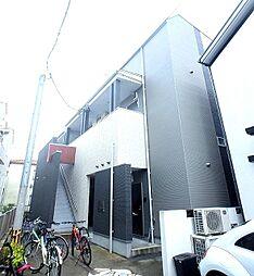 福岡県福岡市早良区百道1丁目の賃貸アパートの外観