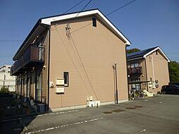 三重県伊勢市上地町の賃貸アパートの外観