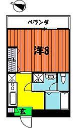ボナールKI[205号室]の間取り