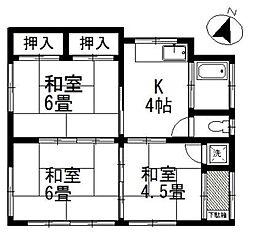 [一戸建] 埼玉県鴻巣市松原4丁目 の賃貸【/】の間取り