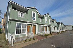 新潟県新潟市西蒲区潟頭の賃貸アパートの外観