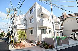 大阪府堺市堺区海山町1丁の賃貸アパートの外観