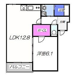 仮称・フジパレス堺市西区鳳南町 3階1LDKの間取り