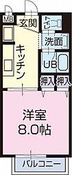 愛知県瀬戸市柳ケ坪町の賃貸アパートの間取り