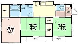 [一戸建] 東京都稲城市百村 の賃貸【/】の間取り