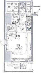 JR山手線 五反田駅 徒歩3分の賃貸マンション 9階1Kの間取り
