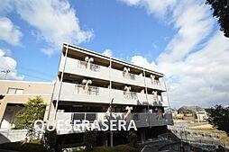 大阪府箕面市粟生間谷西3丁目の賃貸マンションの外観