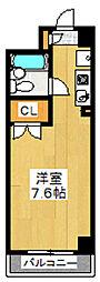 東京都荒川区西尾久2の賃貸マンションの間取り