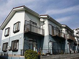神奈川県横浜市青葉区あざみ野南2丁目の賃貸アパートの外観
