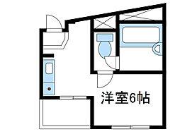 神奈川県厚木市愛甲2丁目の賃貸アパートの間取り